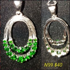 Jewelry - Rare Chrome Diopside Necklace